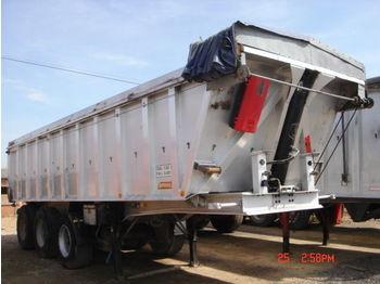 Benalu aluminium - tipper semi-trailer