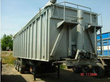 Benalu aluminium iron scrap - tipper semi-trailer