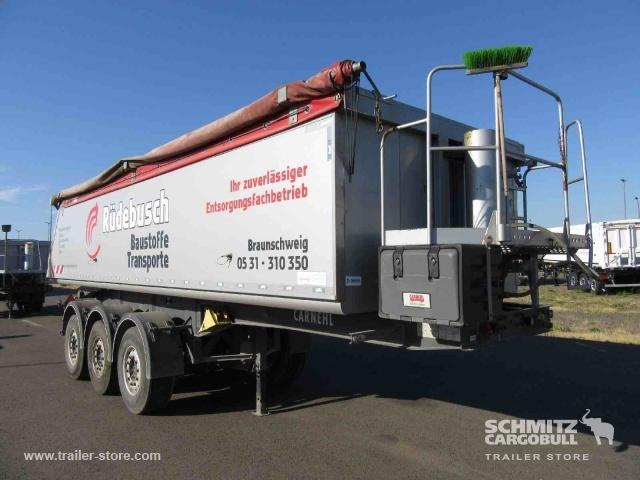 tipper semi-trailer CARNEHL Auflieger Kipper Alukastenmulde Insulated