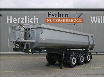 Tipper semi-trailer Carnehl 24 m³ Hardox Stahlmulde, Podest, SAF, Rollplane