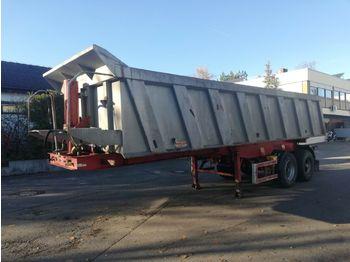 Tipper semi-trailer Carnehl 2 Achs KIPPSANH Hinterkippmulde luftgefedert BPW