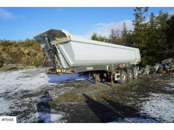 Carnehl 3 akslet tippsemi - tipper semi-trailer