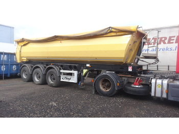 Tipper semi-trailer FLIEGL DHKS390