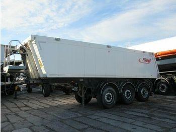 Tipper semi-trailer Fliegl 25 cbm Baustoffmulde Alu/ Stahl