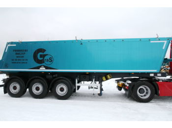 Tipper semi-trailer GRAS SEMI TRAILER TIPPER GS 30 m3
