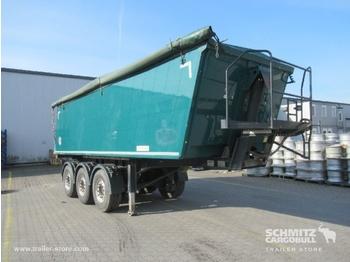 Tipper semi-trailer KEMPF Auflieger Kipper Alukastenmulde