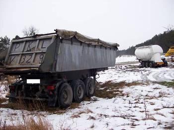 Kässbohrer 3 Achser Kippauflieger - tipper semi-trailer