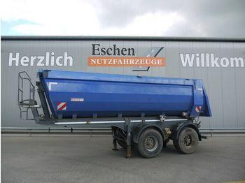 Tipper semi-trailer Kempf SKM 31, 23m³, Hardox, Stahlmulde, BPW, Luft/Lift