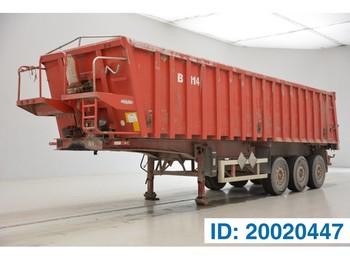 Tipper semi-trailer LAG 36 cub in alu