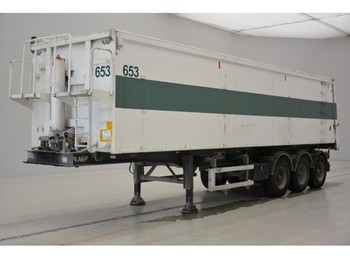 Tipper semi-trailer LAG 45 cub in alu: picture 1
