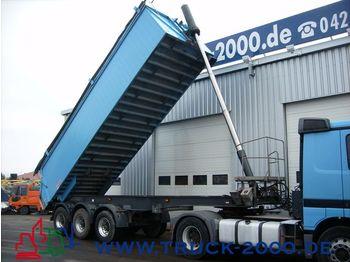 LANGENDORF 3 Achs Alumulde m. Muldenheizung / Rollplane - tipper semi-trailer