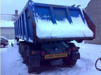 Langendorf 3 Achser Kippauflieger Stahl - tipper semi-trailer