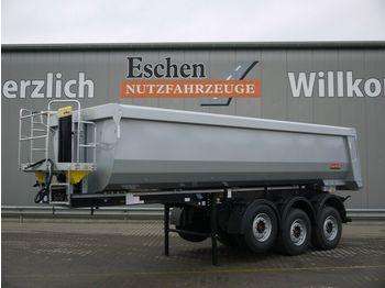 Tipper semi-trailer Langendorf SKS *NEU*25m³ Stahl*Pendelklappe*Luft/Lift*Plane