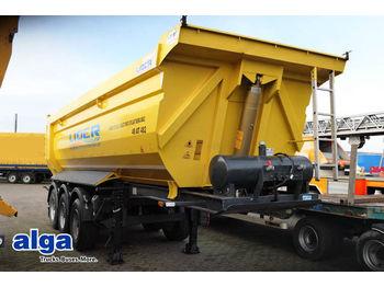 Lider, 28 m³., Stahl, 3 achser, Liftachse.  - tipper semi-trailer