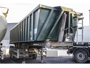 MOL MOL K85F/20T/37ST - ALU - tipper semi-trailer