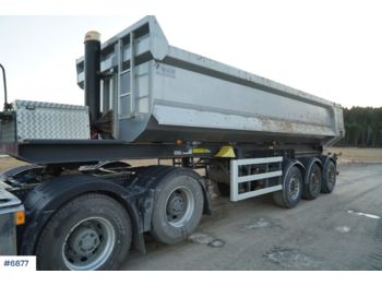 Maur bilpåbygg - tipper semi-trailer