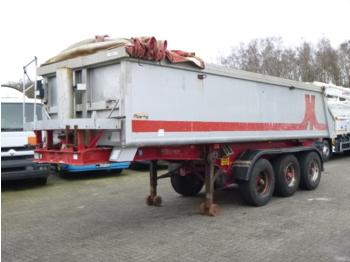 Meierling Tipper trailer alu 21 m3 + tarpaulin - tipper semi-trailer