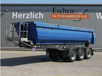 Tipper semi-trailer Meiller 27m³ Stahlmulde, BPW, Luft/Lift