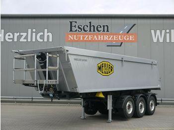 Tipper semi-trailer Meiller MHK 44.3N 27m³Alu*5100kg*Luft/Lift*7mm*AluFelgen
