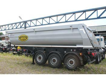 Tipper semi-trailer Meiller MHPS 44/3 N  25m³ Stahl Mulde