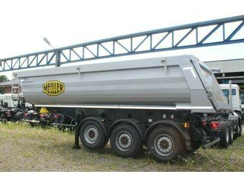 Tipper semi-trailer Meiller Meiller MHPS 44/3 N 25m³ Stahl Mulde
