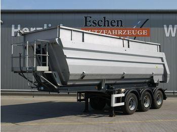 Tipper semi-trailer Meiller TR3, 36m³ Alu Halbschale, Luft/Lift, BPW