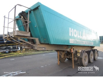 Meiller Tipper Alu-square sided body 25m³ - tipper semi-trailer