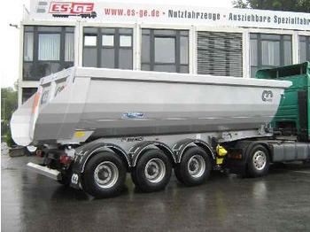 Menci 3-Achs-Kippauflieger 25m³ - Hardox - tipper semi-trailer