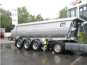 Menci 3-Achs-Kippauflieger 25m³ Hardox - tipper semi-trailer