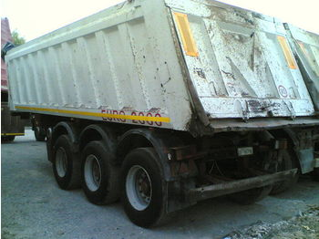 Menci EURO 2000 MINERVA - tipper semi-trailer