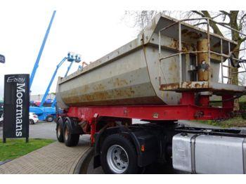Tipper semi-trailer Möslein SMSK 2 Stahl/Stahl 21 M3