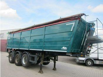 Tipper semi-trailer Müller THA 75 Thermomulde 30m3 Stahl/Alu BPW