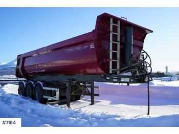 NOR SLEP DAMM tipp semi - tipper semi-trailer