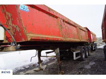 Norslep 3 akslet tippsemi - tipper semi-trailer