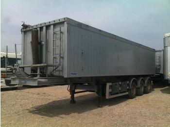 PANAV 50 cbm ganzaluminium 3-Kombination - tipper semi-trailer