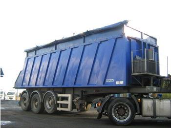 PANAV ganzstahl Kipper 34 cbm - tipper semi-trailer