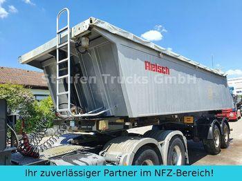 Tipper semi-trailer Reisch RHKS  32/18  2-Achs  ALU Kasten Hinterkipp-SANH