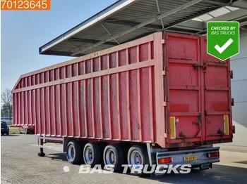 Tipper semi-trailer Rietveld 70m3 Stahl Kipper Schrott-Ferro Liftachse