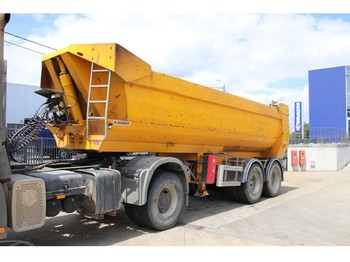 Robuste-Kaiser BENNE ENROCHEMENT - 8 TIRES - tipper semi-trailer