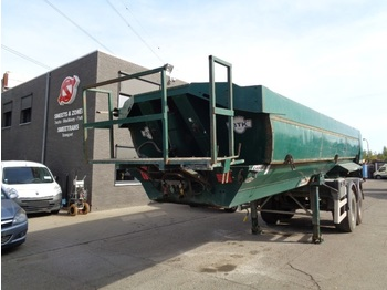 Tipper semi-trailer Robuste Kaiser Oplegger 2 as belg papieren