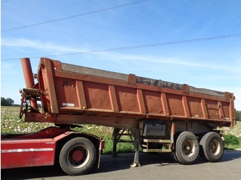 Tipper semi-trailer Robuste Kaiser Oplegger LAmes/steel