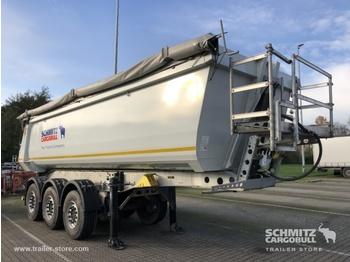 Tipper semi-trailer SCHMITZ Auflieger Kipper Stahlrundmulde 27m³