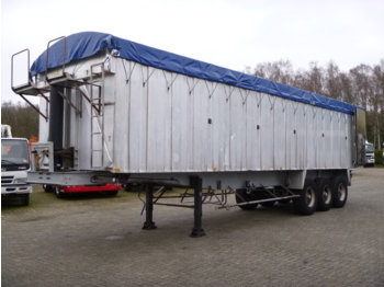 Samro Tipper trailer alu 55 m3 + tarpaulin - tipper semi-trailer