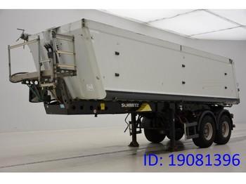 Tipper semi-trailer Schmitz Cargobull 28 cub in alu