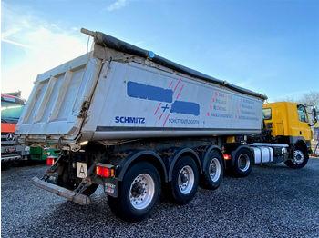 Tipper semi-trailer Schmitz Cargobull Gotha SKI24 Kipper Liftachse Plane