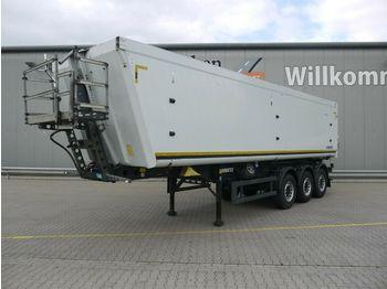 Tipper semi-trailer Schmitz Cargobull SGF S3 45m³Alu*Luft/Lift*Pendelklappe*Getreide