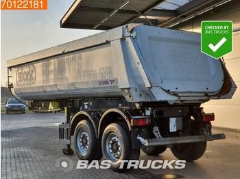 Tipper semi-trailer Schmitz Cargobull SKI18 24m3 Stahl Kipper Liftachse