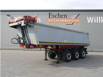 Tipper semi-trailer Schmitz Cargobull SKI 24, 24m³ 2xLiftachse, Alu, E-Verdeck, SAF