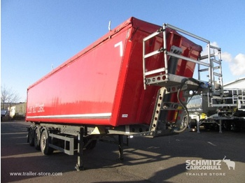 Schmitz Cargobull Tipper Alu-square sided body 47m³ - tipper semi-trailer