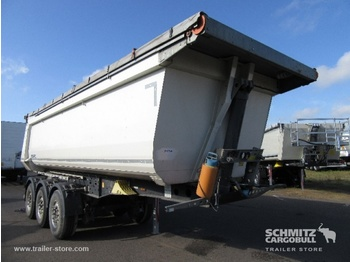 Schmitz Cargobull Tipper Steel half pipe body 27m³ - tipper semi-trailer